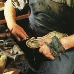 making boots 1950s